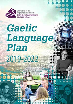 Gaelic Language Plan cover