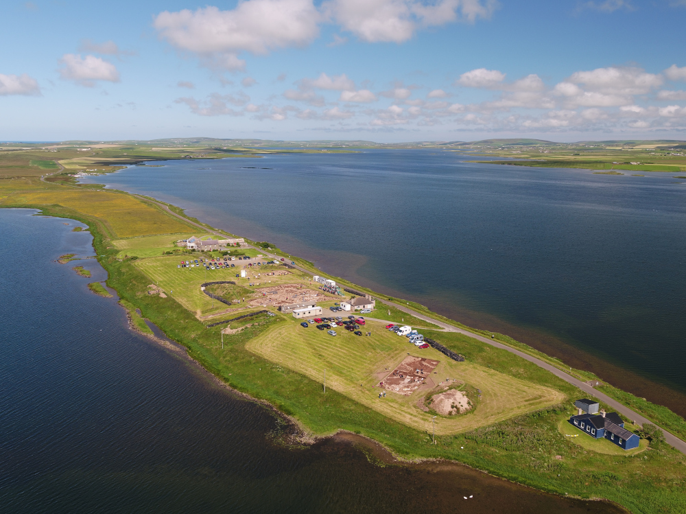 The UHI Archaeology Institute research dig at the Ness of Brodgar, Orkney