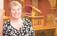 Professor Donna Heddle, director of the Institute for Northern Studies, Orkney