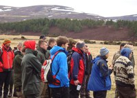 Students gather in Carrbridge for land conference