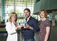 Autism project recognised with university award