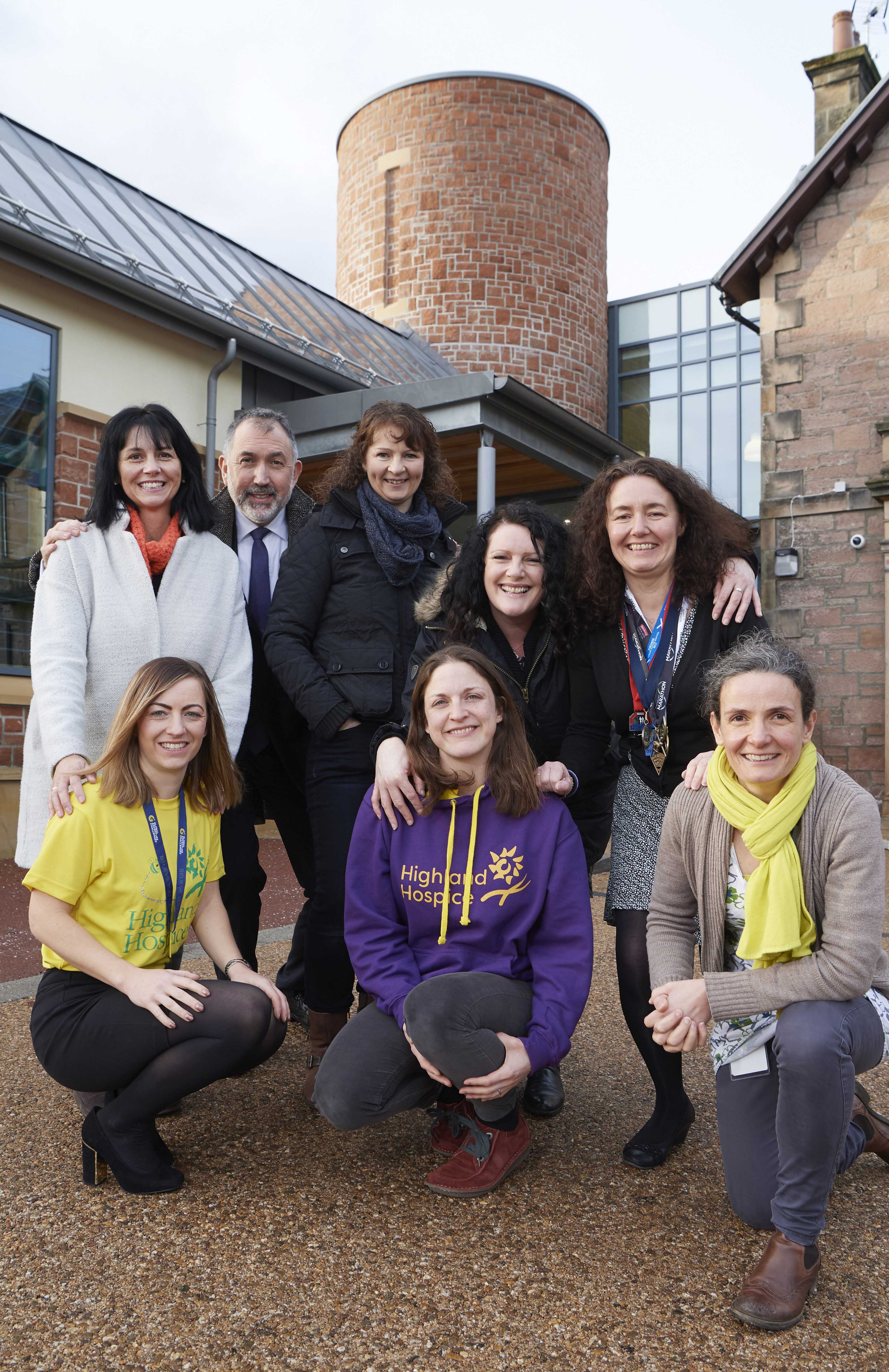 University staff raise over £6000 for Highland Hospice