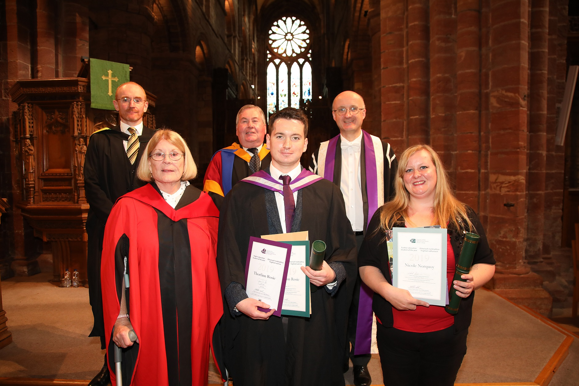 Double award for students at Orkney College UHI
