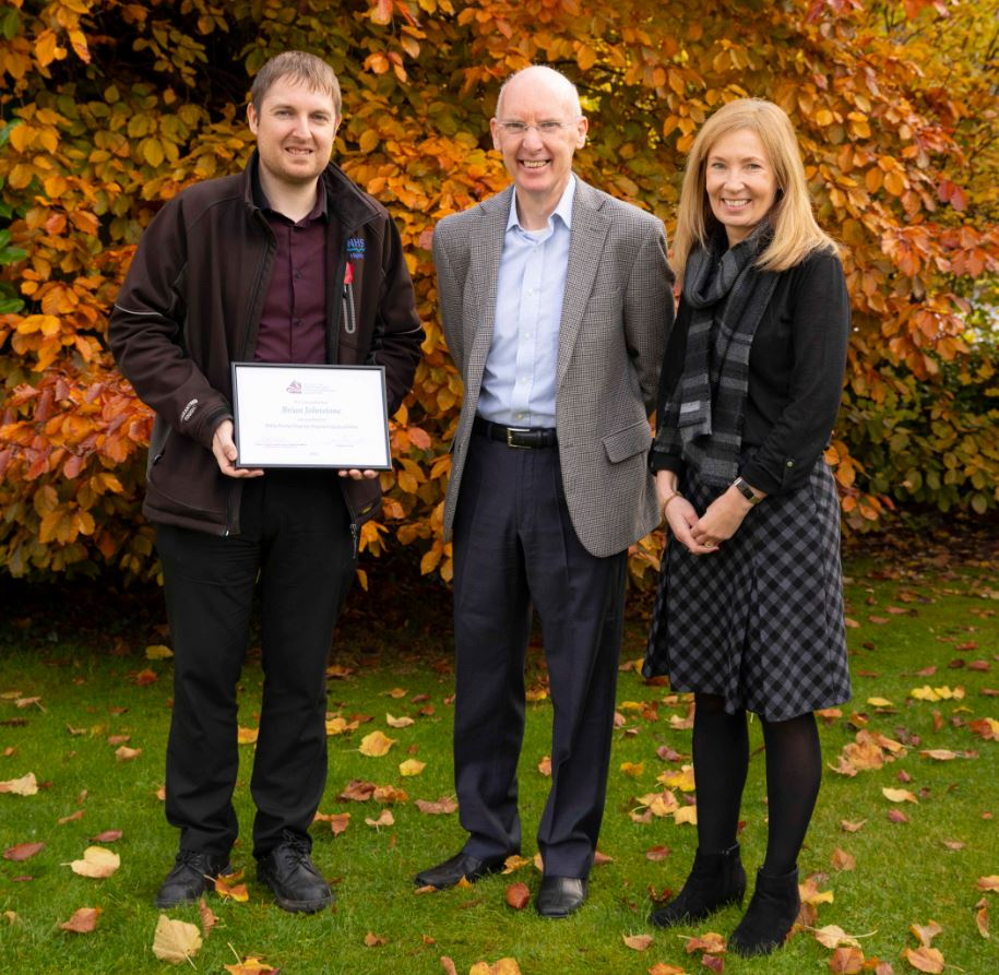Ross-shire graduate recognised for engineering excellence