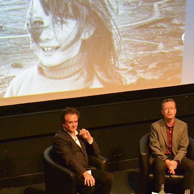 Donny Munro and Dr David Worthington discuss Runrig and Highland history at the National Museum of Scotland