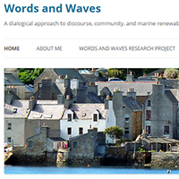 Words and waves blog