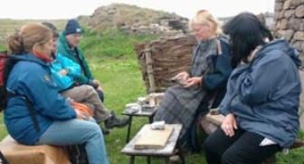 history and landscape summer school in Shetland