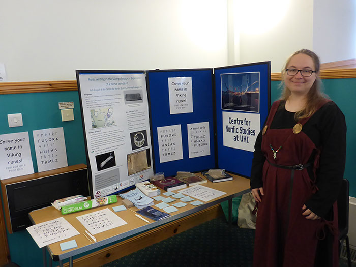 PhD students contribute to Orkney International Science Festival