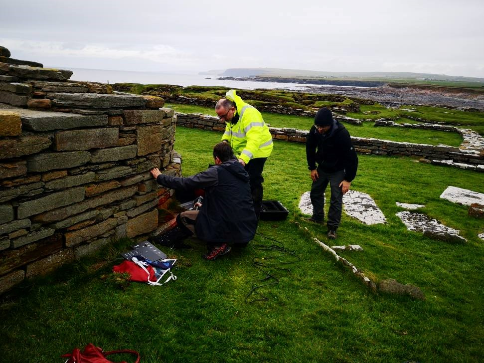 Laser Scanning Orkney's Pictish and Norse history.