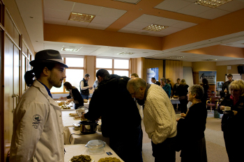 Orkney Flours project tasting event