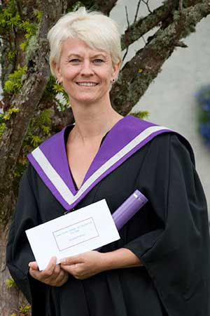 Andrea Wallner, Lews Castle College UHI student of the year 2013