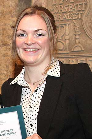 Iona Corse, Orkney College UHI student of the year 2013